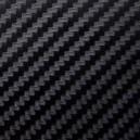 """Виниловая пленка с фактурой """"карбон"""" черная, 1м"""