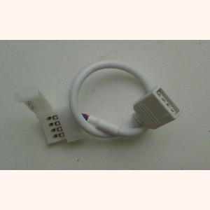 Коннектор  для светодиодной ленты RGB 10 мм