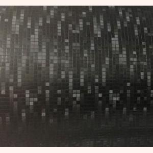 """Пленка с эффектом """"Матрица"""" черная, 10 см"""