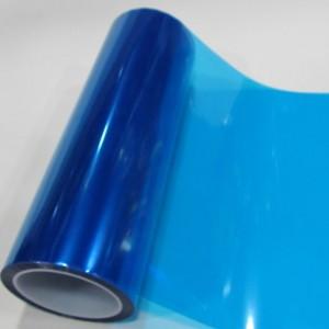 Тонировка фар синяя, глянцевая, 10 см