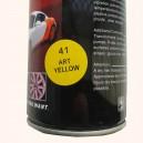 Резиновая краска балоннчик (спрей) 400 мл, желтого цвета